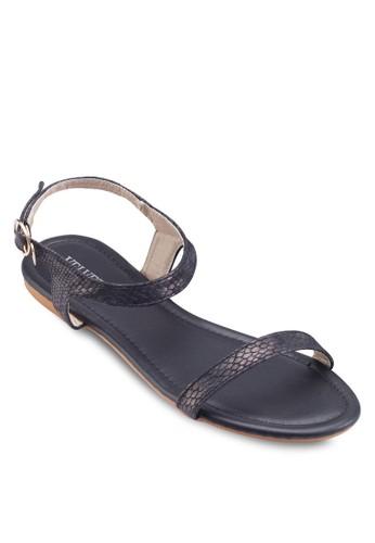 Joyce 一字帶繞踝涼鞋, 女鞋,esprit 台中 鞋