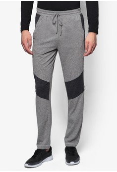 Joggers With Contrast Panel