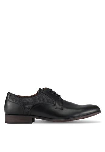 Call It Spring black Freacia Derby Shoes CA512SH0SFDJMY_1