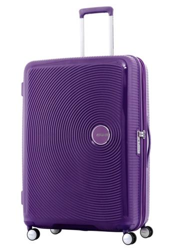 American Tourister purple American Tourister Curio Spinner 80/30 Exp TSA AM536AC68ZXZSG_1