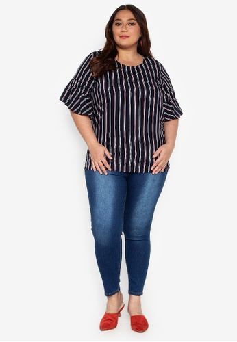 7a86ef971 Shop Crissa Cropped Plus Size Jeans Online on ZALORA Philippines