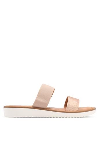 Dorothy Perkins gold Funky Comfort Sandals 98C8FSHC0E865DGS_1