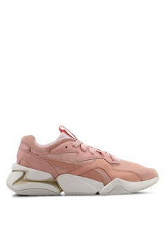 e4b158a01af07 Puma pink and orange Sportstyle Prime Nova Pastel Grunge Women's Shoes  1C186SH7AB88B8GS_1