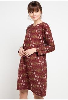 Jual Vestiti Wayang Bordir Dress Original  cad0ed5db1