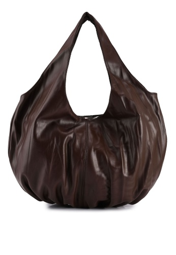 Red's Revenge brown Maxi Slouchy Bag 2B2C2ACE3A16BDGS_1