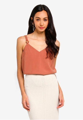 c52009348d457 Buy TOPSHOP Ring Cami Top Online on ZALORA Singapore