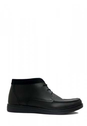D-Island black D-Island Shoes Formal High Loafers Eagle Leather Black DI594SH79LWQID_1