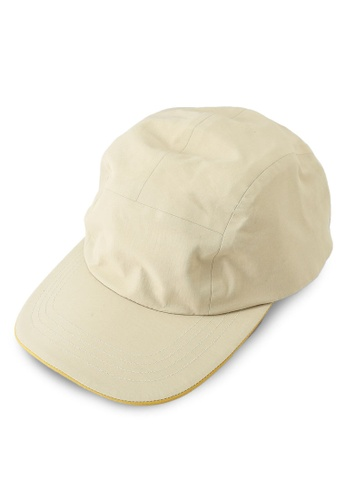 GLOBAL WORK beige Woven Low Cap 21AE6AC84F5FACGS_1
