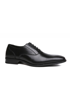 00e0bfa03ae907 Kings Collection black Carlyle Derbies Shoes 3AF46SHA8EF3B8GS 1