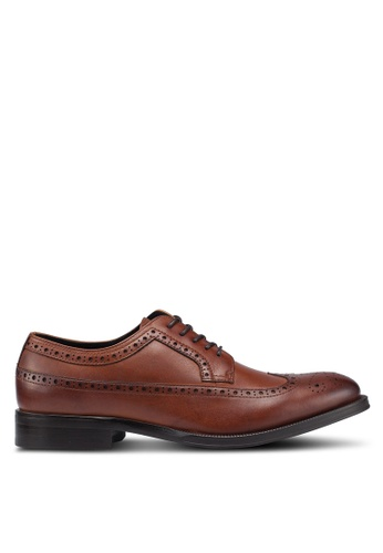 ALDO brown Broeri Lace Up Brogues 96545SHD437453GS_1