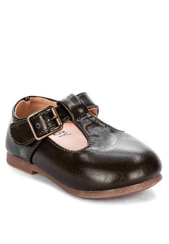 RAISING LITTLE green Alexis Vintage T-Bars Shoes 90B4AKSF0C1748GS_1