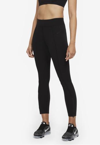 Nike black Women's Legasee Zip Leggings D996EAA5232F73GS_1