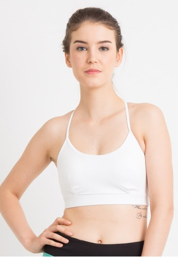 Corenation Active white Rapid Sport Bra - White 23CECUSEC545F1GS_1