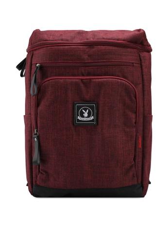 Playboy red Playboy Backpack F6C31AC92C8DDEGS_1
