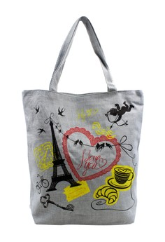 Paris I Love You Tote Bag