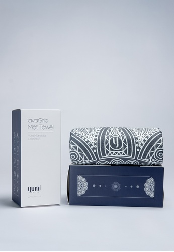 Yumi Active grey Yumi Active avaGrip Mat Towel Zen Galaxy (Titanium Grey) AB5D2AC5832495GS_1