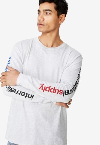 Cotton On grey Tbar Long Sleeve T-Shirt FBC95AA1B72282GS_1
