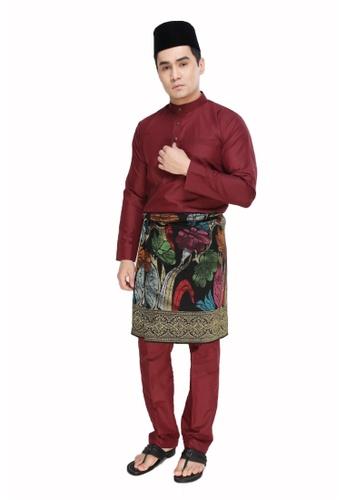 Amar Amran red Baju Melayu Raja Sehari 09055AA7B2DFB8GS_1