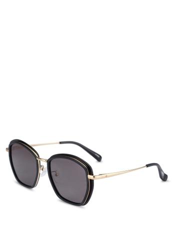 BLANC & ECLARE black Prague Sunglasses 247ACGL1646B76GS_1