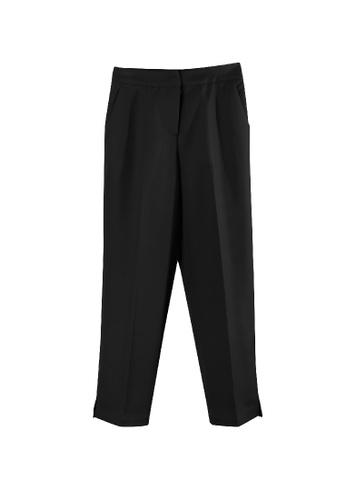Giordano Ladies black Relaxed-Fit Capri E1303AAF4B198EGS_1