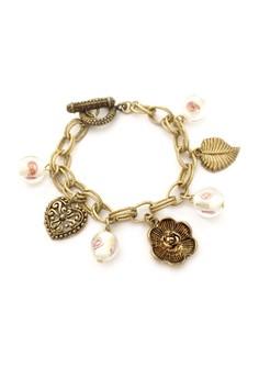 Garden Love Charm Bracelet