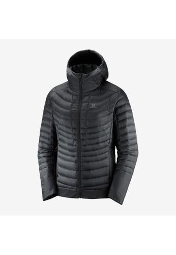 Salomon black Salomon Women Outspeed Down Jacket Black 2B42FAAF0DAE57GS_1