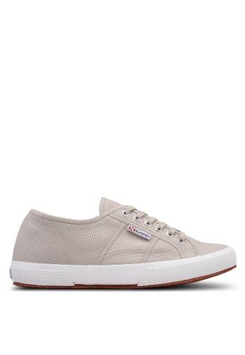 Superga grey and beige Cotu Classic Sneakers 31122SHB1933C2GS_1