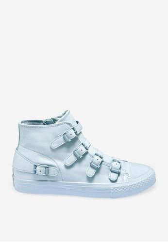 ASH blue Venus - Blue Strap Sneakers C7E9BSHEE5AA55GS_1