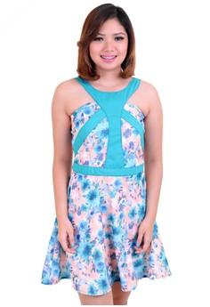 Mishia Clothing Catherine Dress in Blue