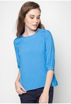 Quarter Sleeves Blouse