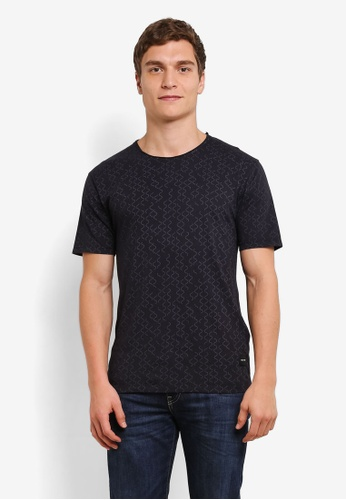 Only & Sons black August Short Sleeve Tee ON662AA0S5OPMY_1