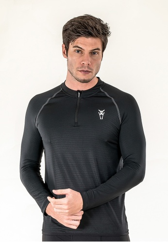 AMNIG Amnig Men Alacrity Long Sleeve (Black) AM133AA80DOHMY_1