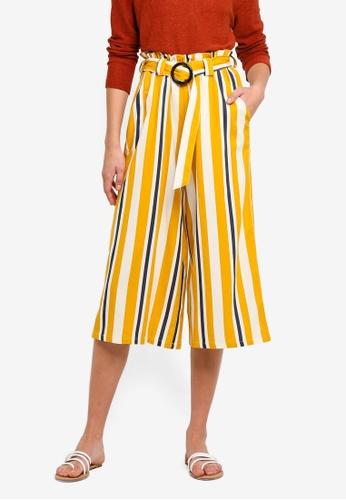 Cotton On yellow High Waist Culotte 51AAFAA414D4FBGS_1