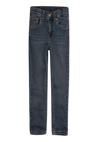 Levi's Kids blue LEVIS Little Boy 512 Slim Taper Fit Jeans C6A42KAE644278GS_1