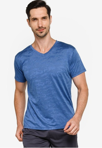 Fidelio blue Dry-Fit Camou Active Tee FAD08AAD1E4642GS_1