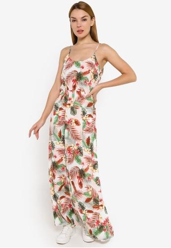 Vero Moda multi and beige Simply Easy Singlet Maxi Dress 037D5AA14B2341GS_1