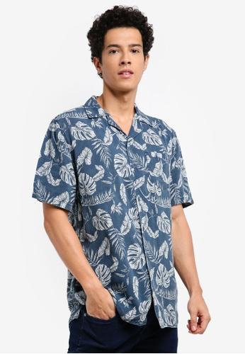 Cotton On blue and multi 91 Short Sleeve Shirt B4986AAB537FB9GS_1