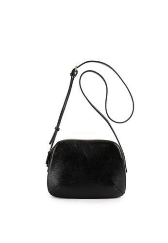 Della Stella black Sally Cross Bag FF4CDAC661E110GS_1