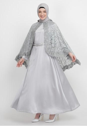 Manama grey Manama Grey Kamila Dress 19242AA6D6350FGS_1
