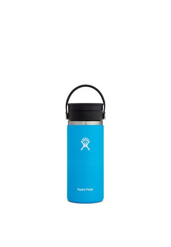 Hydro Flask blue Hydro Flask Wide Mouth W/Flex Sip Lid 16 oz (473ml) - Pacific 24B82ACA4196DFGS_1
