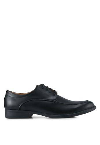 UniqTee black Lace Up Formal Shoes UN097SH0SYSDMY_1