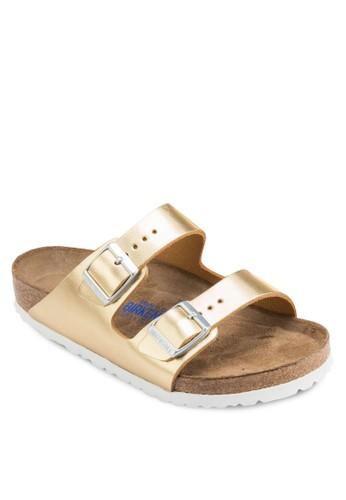 Arizonesprit台灣a 雙扣環帶拖鞋涼鞋, 女鞋, 鞋