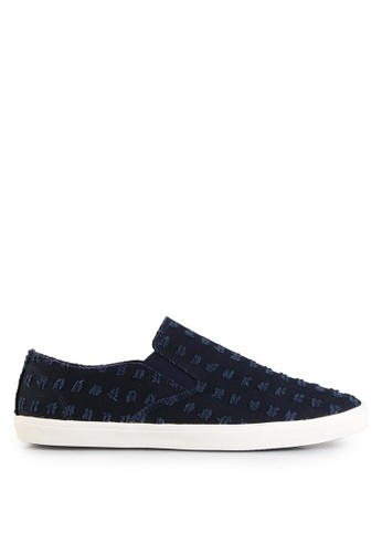 Minarno navy Embroidered 139FESH69DCA55GS_1