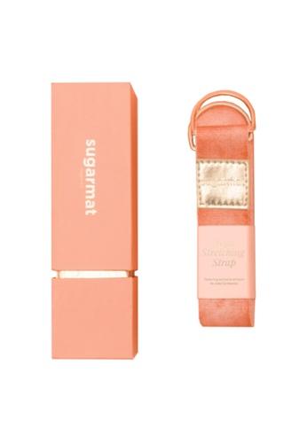 Sugarmat pink Yoga Stretching Strap - Pink 922A0SE55C3AB5GS_1