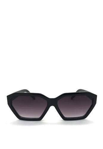 Kaca-kaca black Kaca Kaca Luna Black Sunglasses 5ED00GLC78D205GS_1