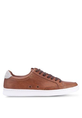 ALDO brown Aluer Sneakers 4A8EESH49B2A95GS_1
