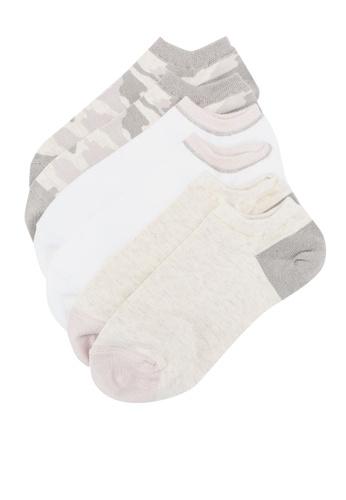 GAP 多色 3-Pack Ankle 襪子 A3673AA15B0DE4GS_1