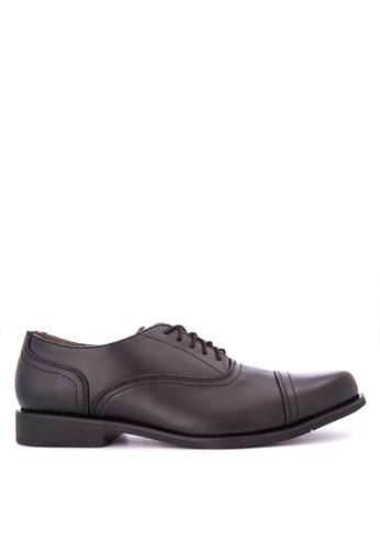 Brogue & Derby black Draco Formal Shoes BR611SH0KFKAPH_1