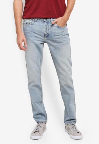 MANGO Man blue Straight-Fit Vintage Wash Bob Jeans MA449AA0T1EFMY_1