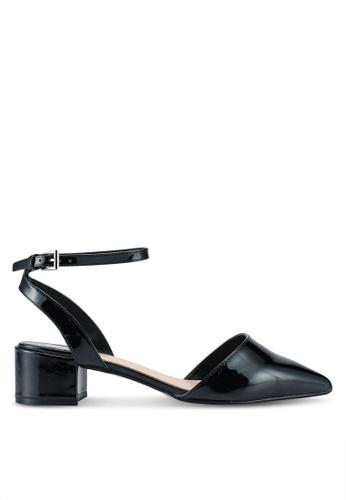 Dorothy Perkins black Wide Fit Emelia Court Shoes E4A92SH9897424GS_1